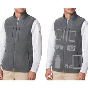 Scottevest Fireside Grey Vest Size XL NEW